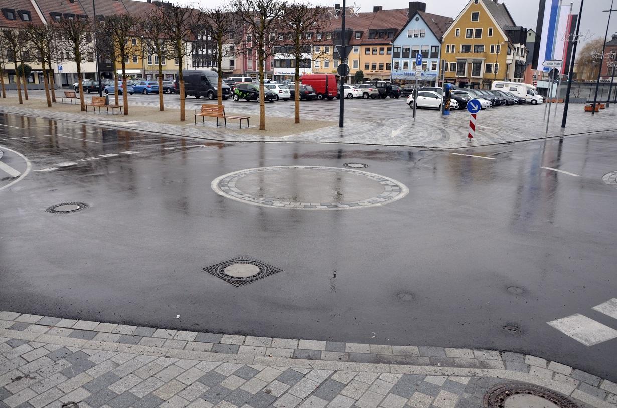 Irrungen und Wirrungen im Kulmbacher Kreisverkehr