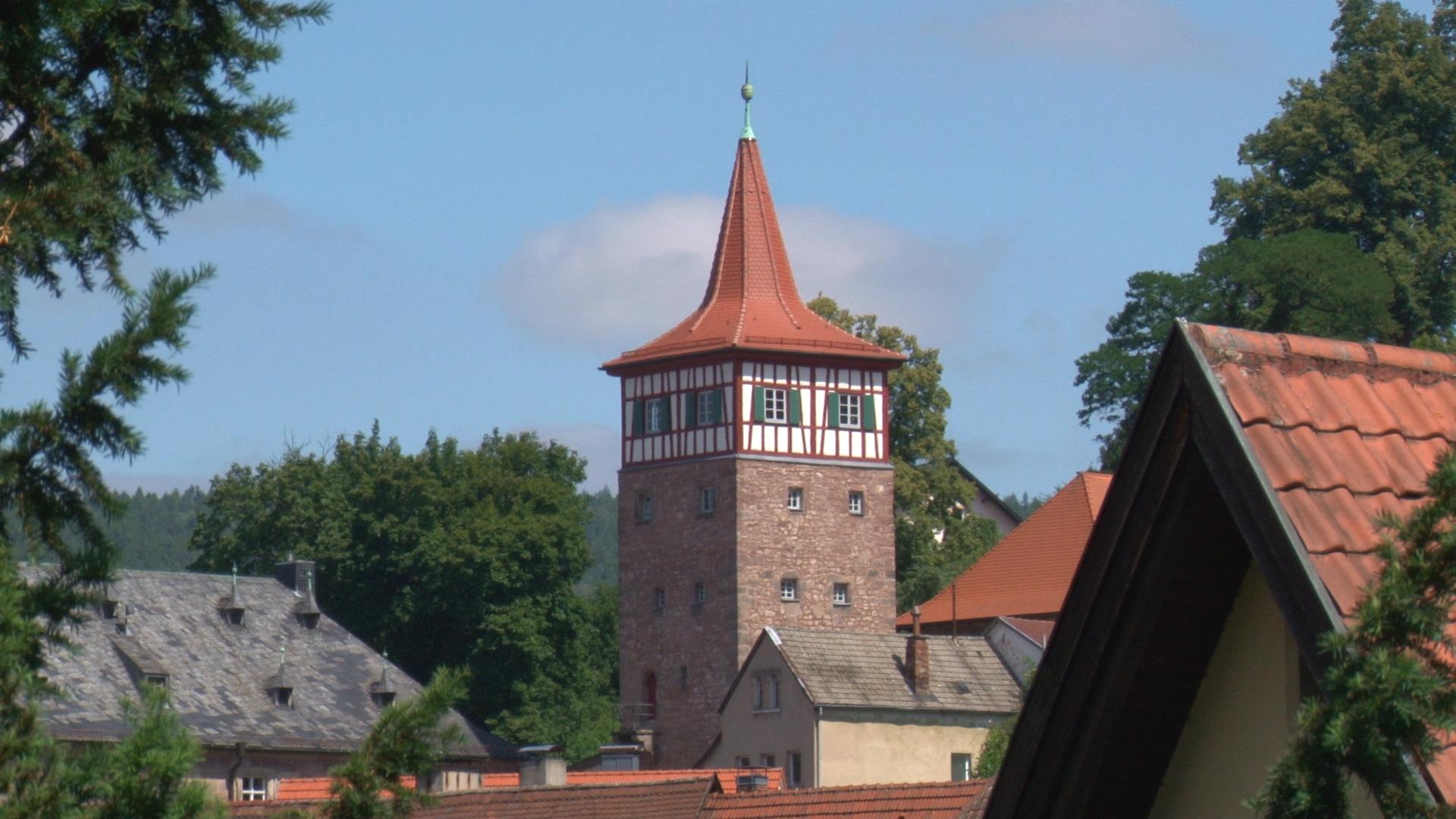 Der Rote Turm – Wahrzeichen neben der Plassenburg